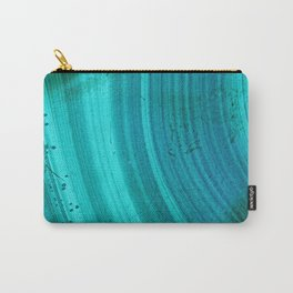 Turquoise Halos Carry-All Pouch