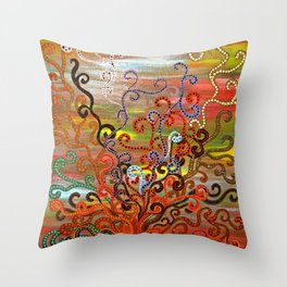 """""""Eventide"""" by ICA PAVON Throw Pillow"""