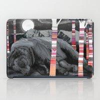 dreams iPad Cases featuring Sweet Dreams Ursus Arctus  by Sandra Dieckmann