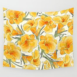 the daylily Wall Tapestry
