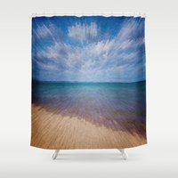 running Shower Curtains featuring Running Water by Phil Perkins