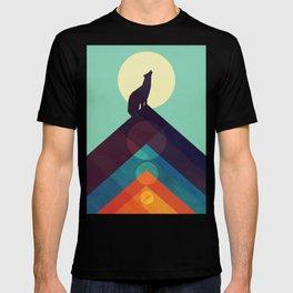 Howling Wild Wolf T-shirt