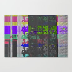 Irrecoverable Fragments - #1 Canvas Print