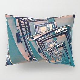 Infinite Spinning Stairs Pillow Sham