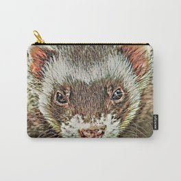 Toony Ferret 1 Carry-All Pouch
