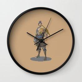 Pixel Hanzo Wall Clock