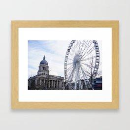 Wheel of Nottingham Framed Art Print