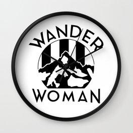 WANDER WOMAN Wall Clock
