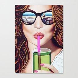 FastLane Canvas Print