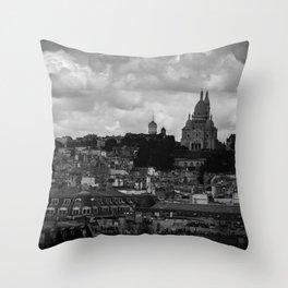 PARISIAN GLOOM Throw Pillow