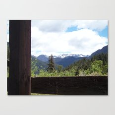 Peeking Out Canvas Print