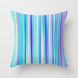 Re-Created Angel Hair XV by Robert S. Lee Throw Pillow