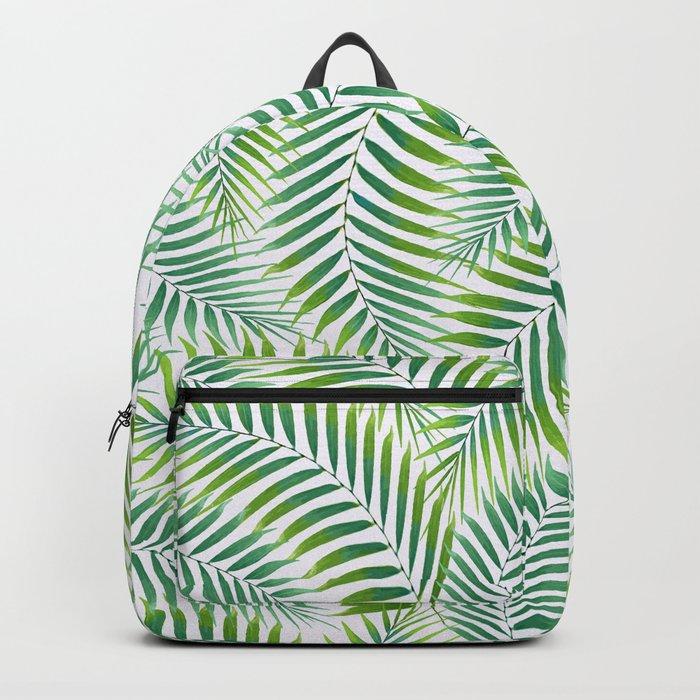 Palm leaves VI Backpack
