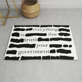 Trust Your Government Rug