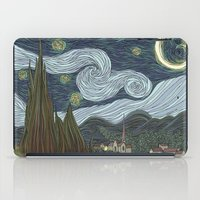 starry night iPad Cases featuring starry night by Justin McElroy