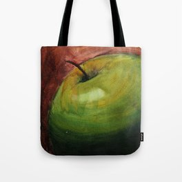 Fresh Green Apple Tote Bag