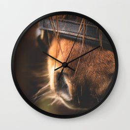 Soft Horse Nose Wall Clock