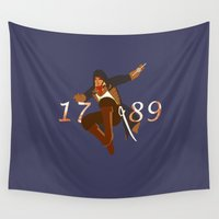 revolution Wall Tapestries featuring Revolution by Arts and Herbs