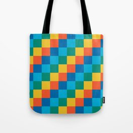 Color me happy - Pixelated Pattern in bright colors Tote Bag