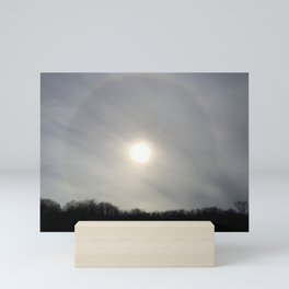 Cloudy Corona Mini Art Print