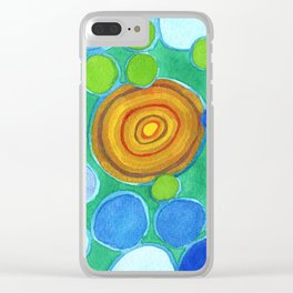 Stones under Water Clear iPhone Case