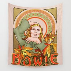 Bowie Art Nouveau Wall Tapestry