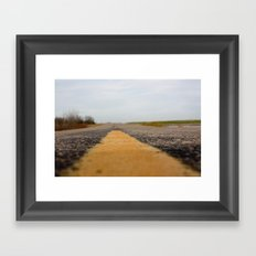 The Everlong Highway Framed Art Print