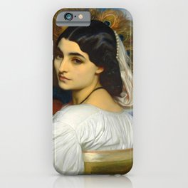 "Frederic Leighton ""Pavonia"" iPhone Case"