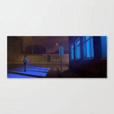 Late night comebacks Canvas Print