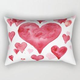 heart attact for lovers Rectangular Pillow