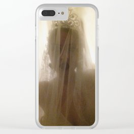 Ghost Bride Clear iPhone Case