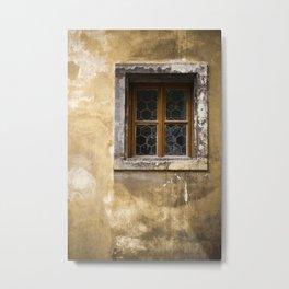 Mysterious Window II Metal Print