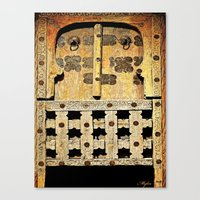 door Canvas Prints featuring Door by Saundra Myles