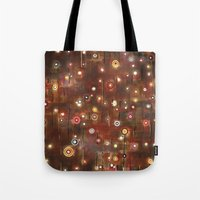 constellation Tote Bags featuring constellation by davina pallone