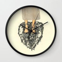 Ghosts III Wall Clock