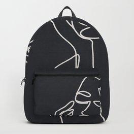 Abstract Minimal Woman III Backpack