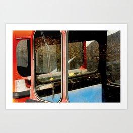 Ski Gondolas #2 Art Print