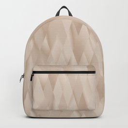 Beige Harlequin Backpack