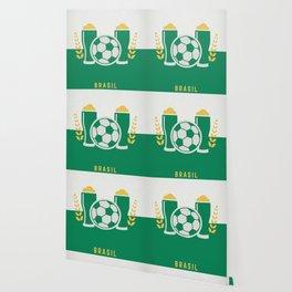 cerveja e futebol Wallpaper