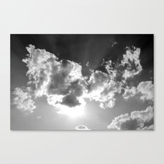 dark above Canvas Print