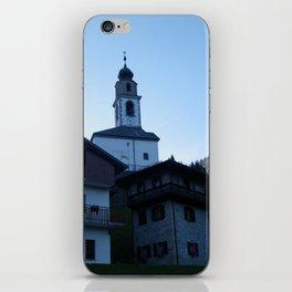 Italian Mountain Village: A View iPhone Skin