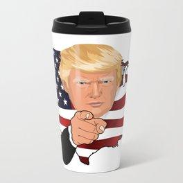 President Trump Metal Travel Mug