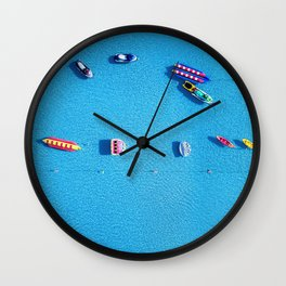 Summer Toys Wall Clock