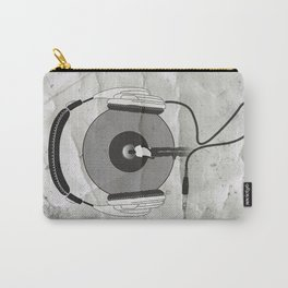 vinyl afro Carry-All Pouch