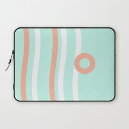 Turquoise & Coral (7) Laptop Sleeve