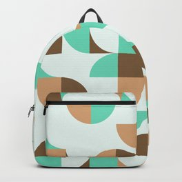 Mint and Chocolate Fresh Pattern Backpack