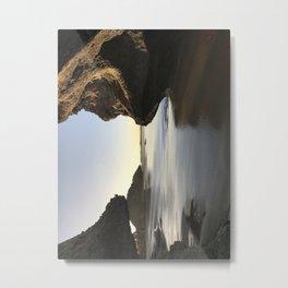 Sunset at Survival beach Metal Print