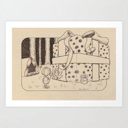 Gift Art Print