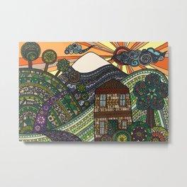 'Landscape' Metal Print