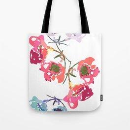 flowing flowers Tote Bag